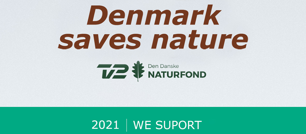 Logo from the show Denmark Saves Nature
